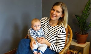 Lucy Morieson and baby Atlas
