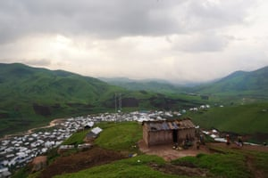 The village of Numbi, now with two mobile phone towers