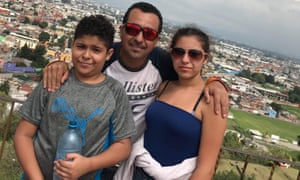 Hector Avilez Avila spent 16 months away from his wife Carolina and their two children when he was detained by US Immigration and Customs Enforcement. He has now been deported to Mexico.