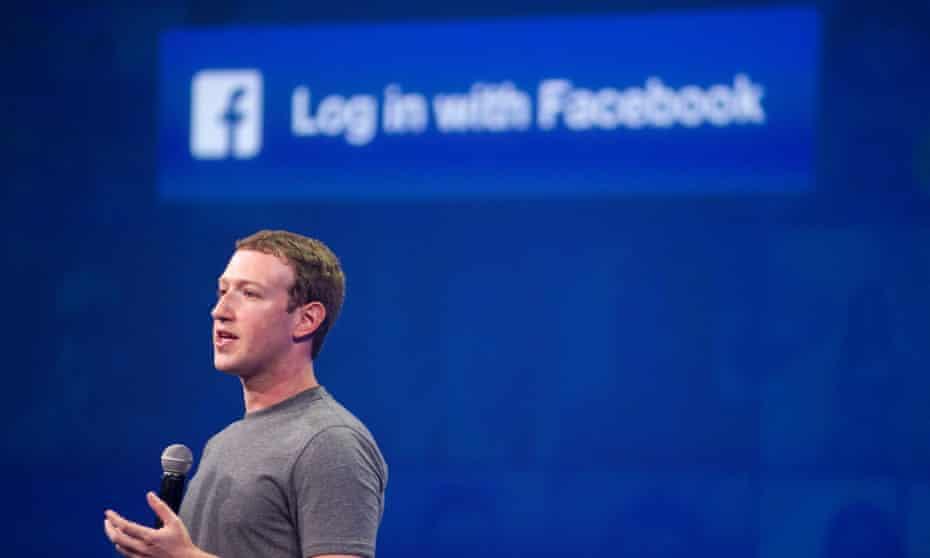 Facebook chairman Mark Zuckerberg