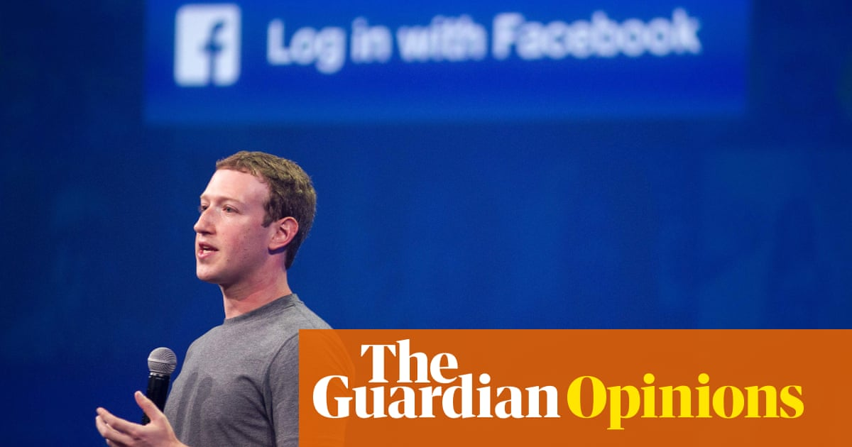 Dear Mr Zuckerberg: the problem isn't the internet, it's Facebook