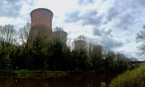 The Buildwas power station cooling towers