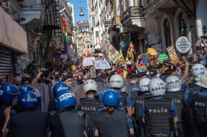Last month, for the fifth time, the Pride Parade in Istanbul was banned and dispersed by the police.
