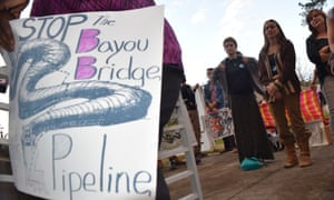 'A lot of times we don't get this opportunity to speak up. [These oil companies] want to just roll over us.'