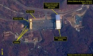 Image of the Sohae Satellite Launch Facility in North Korea.