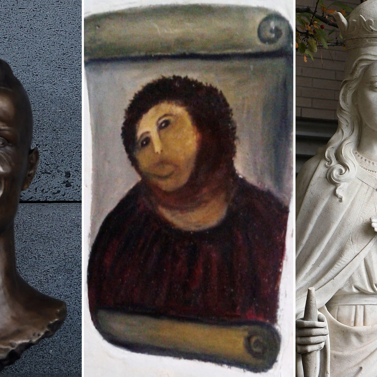 It S A Botch Up Monkey Christ And The Worst Art Repairs Of All Time Art The Guardian