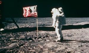 Apollo 11 astronaut Buzz Aldrin on the Moon in 1969.