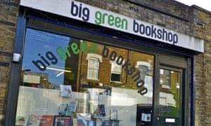 The Big Green Bookshop, in North London.