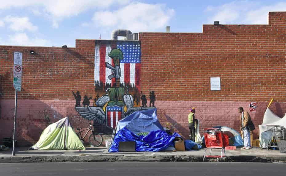 Homeless advocates say the city is violating its responsibility to provide housing.