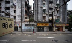 Despite being richest place on earth, dilapidated urban housing is visible all over Macau