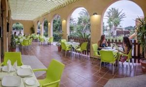 Restaurant area at Turístico y Camping Los Escullos, San Jose