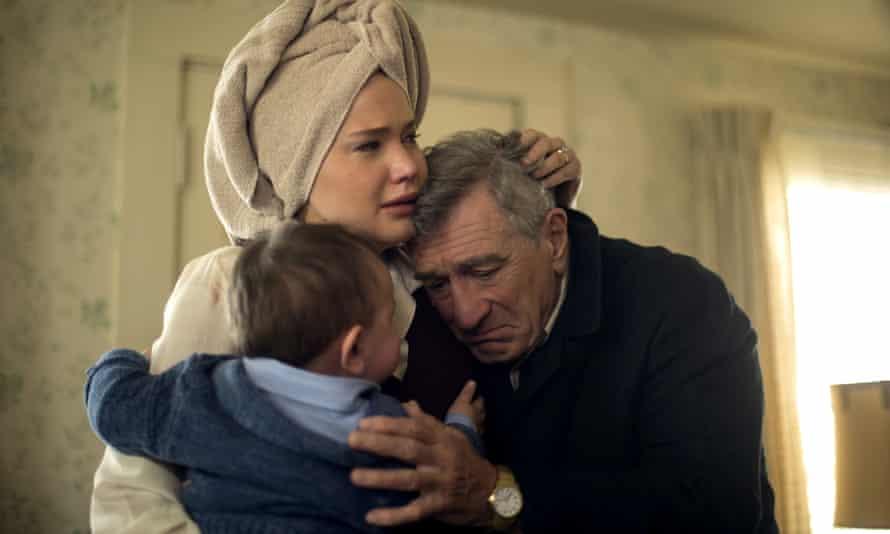 Jennifer Lawrence and Robert De Niro in Joy.