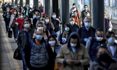 'The biggest shock was fresh air': Italy begins cautious exit from virus lockdown