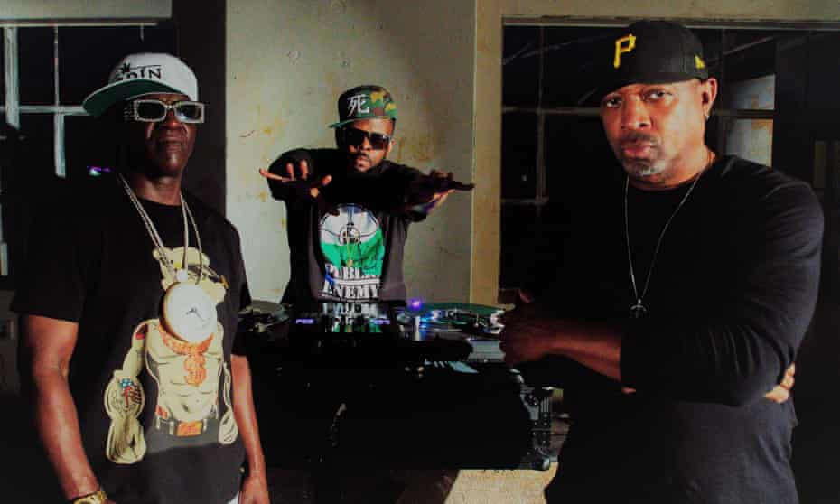 'Be prepared for government tricks' ... Flavor Flav, DJ Lord and Chuck D of Public Enemy are back on Def Jam.