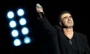 George Michael … performing in 2008.