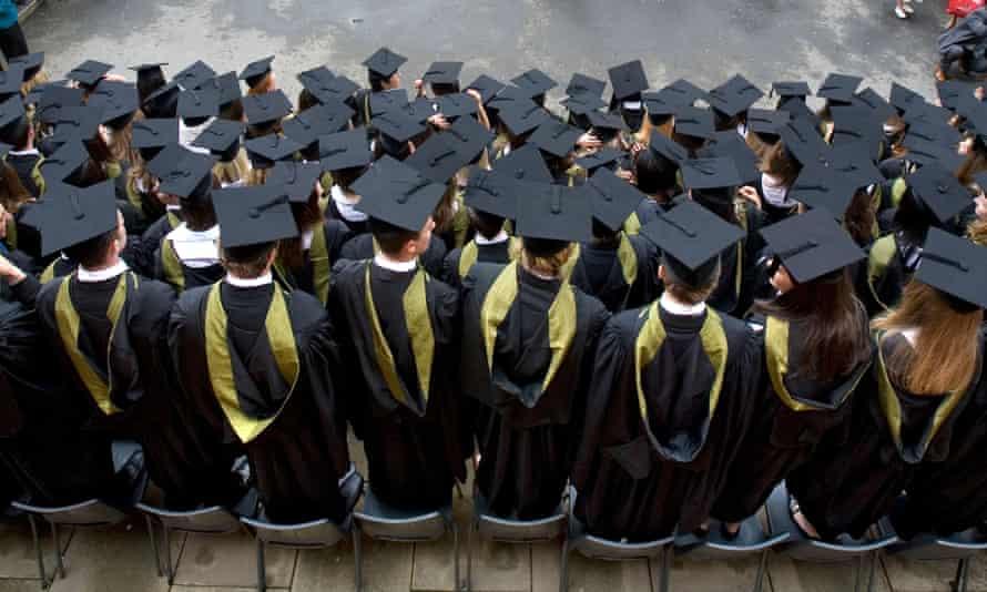 Graduation day at University of Birmingham