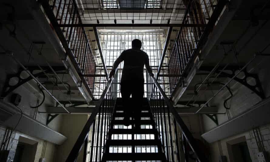A general view inside a prison building