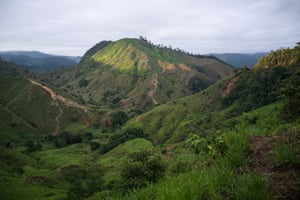 The countryside in northeastern Antioquia, an area where the Farc has historically operated