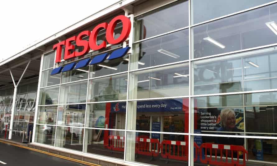 The Tesco store in Lockerbie, Scotland