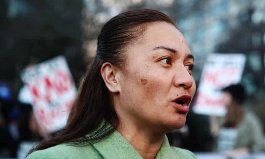 Green party MP Marama Davidson