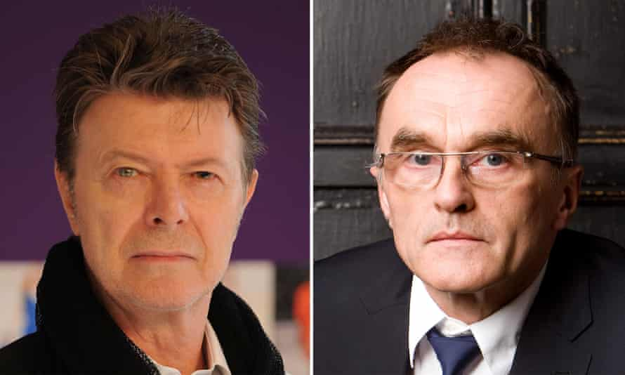 Danny Boyle,right, has failed to win over David Bowie to his musical project.