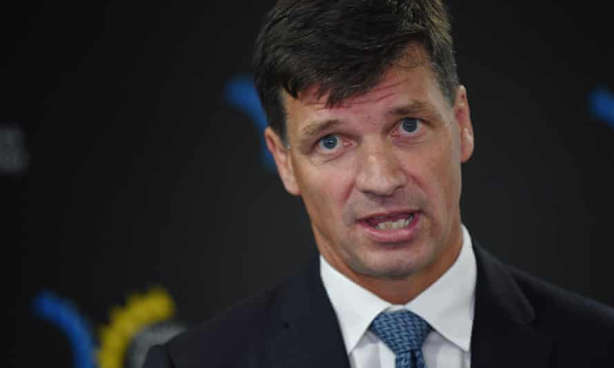 Angus Taylor was a student at Oxford University with the founder of Pacific Alliance Group, a beneficiary of an $80m water buyback.