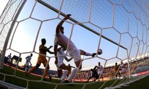 Diadie Samassekou's corner evades Tunisia keeper Mouez Hassan to put Mali ahead.