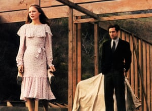 Flop … Ingrid Boulting with Robert De Niro in The Last Tycoon, 1976.
