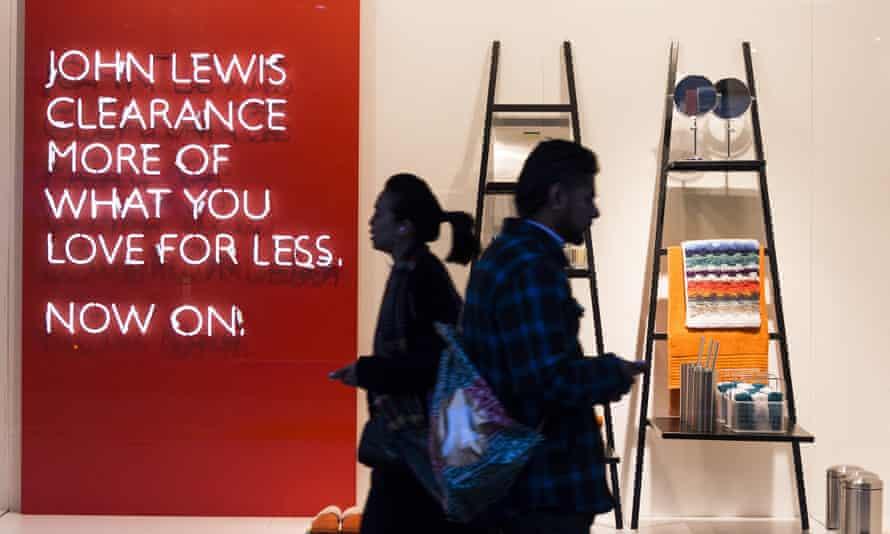 John Lewis sales