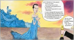 Chris Riddell on George Osborne's borrowing misery.