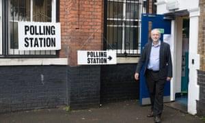 Jeremy Corbyn: 'It's a very good day.'
