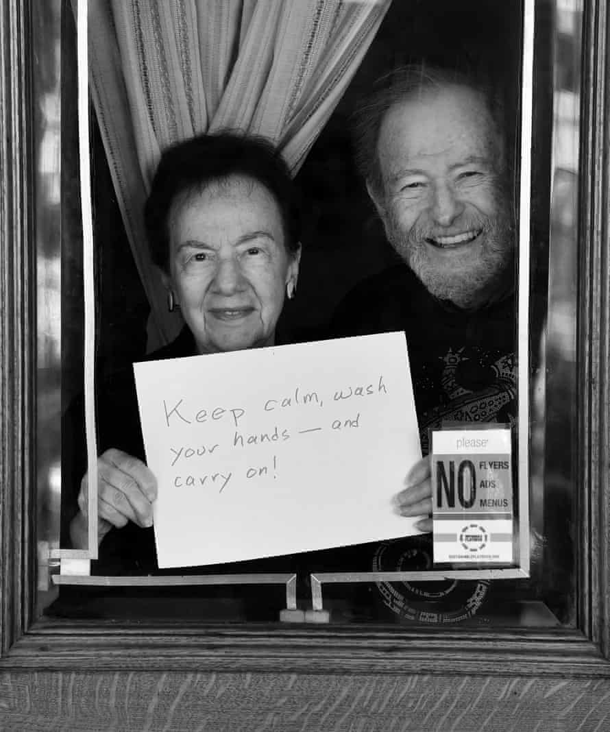 Dr. Marge Blaine and Ed Blaine