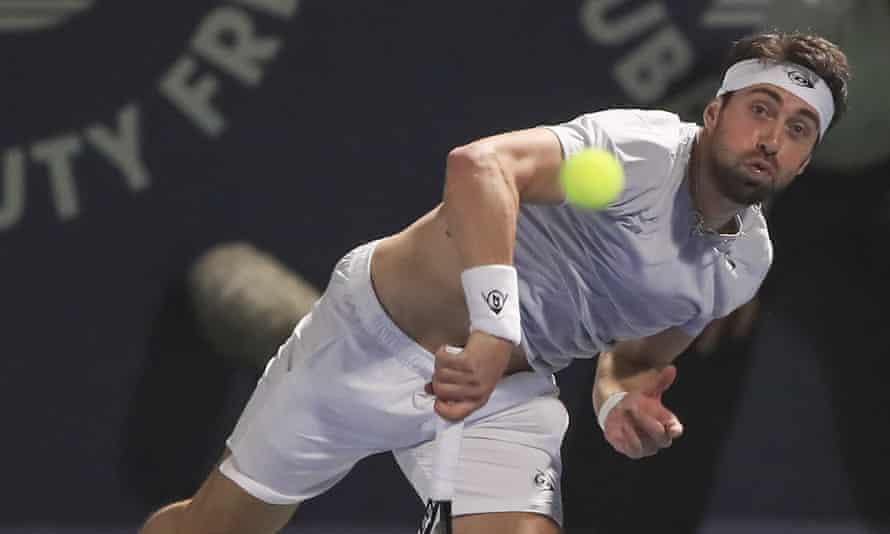 Nikoloz Basilashvili has made it to No 27 in the world rankings.