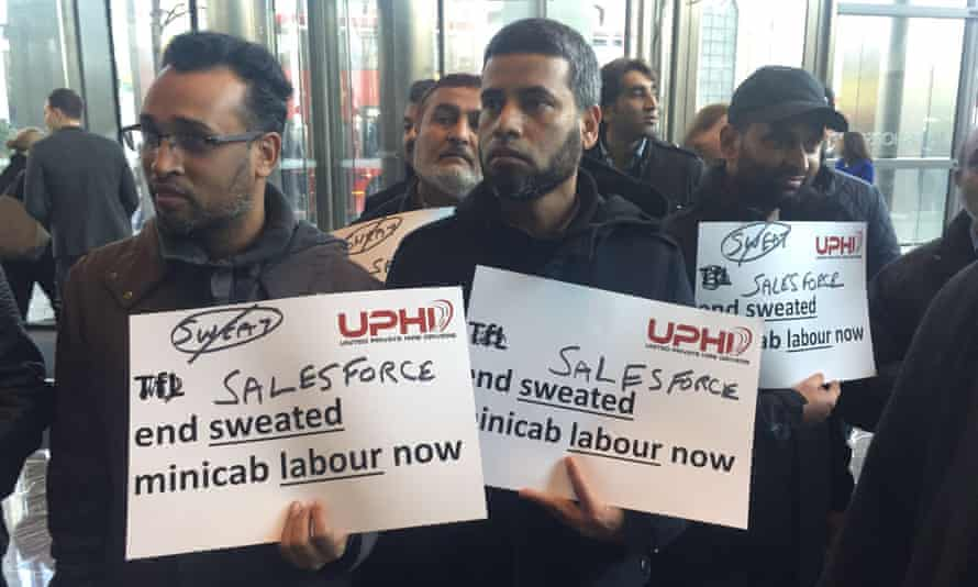 The move came as several dozen Uber drivers picketed City Hall on Wednesday.