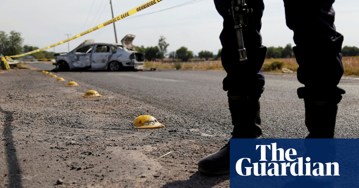 Major drug-gang shootout leaves 19 dead in northern Mexico - the guardian