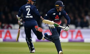England's Jason Roy and Alex Hayles open the batting against Ireland.