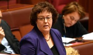 Labor senator Jacinta Collins