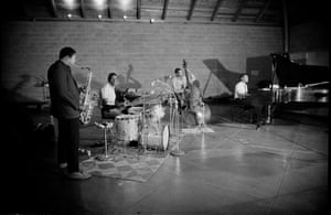 John Coltrane quartet (l-r): John Coltrane, Elvin Jones, Jimmy Garrison, McCoy Tyner.