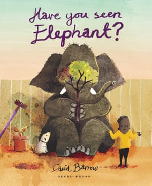 Illustrated books category: Have You Seen Elephant? by David Barrow (Gecko Press)