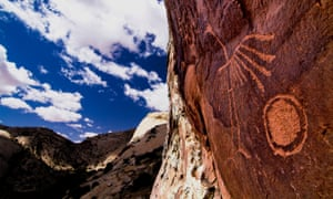 Crane Petroglyph, at the proposed Bears Ears national monument in Utah