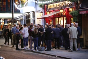 Hospitality venues in England will have to close their doors at 10pm and offer table service only from Thursday.