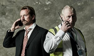 Former top banker Geraint Anderson and security guard Barry Smith