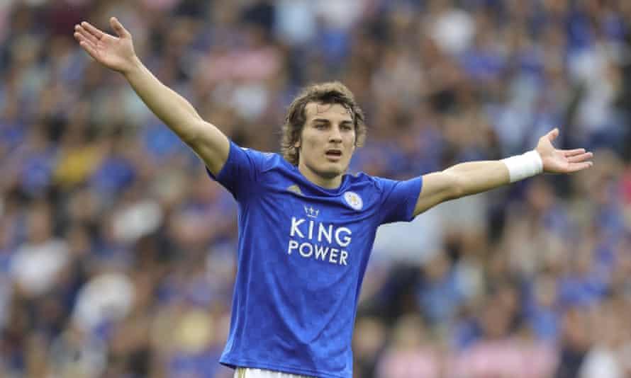 Caglar Soyuncu impressed in defence for Leicester.