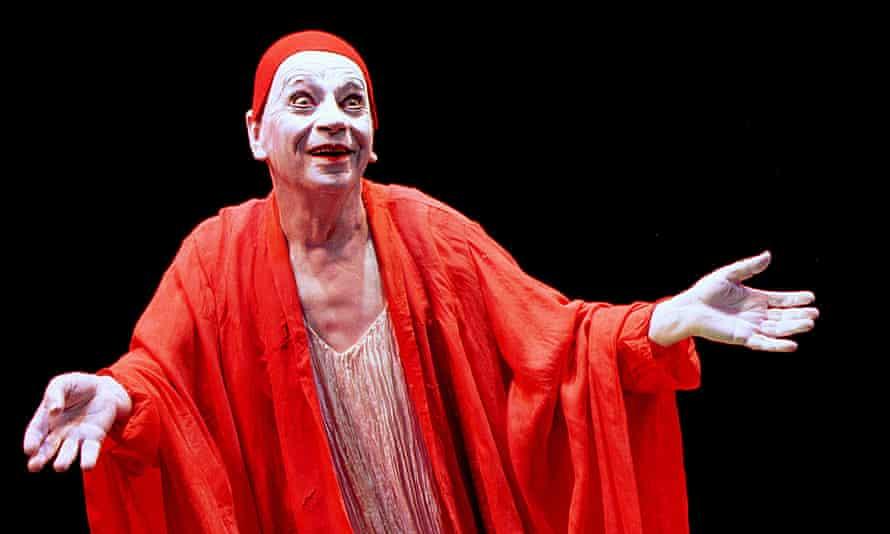 Lindsay Kemp in Salome's Last Dance