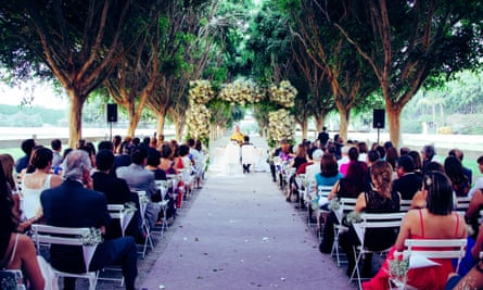 A smart wedding at a 'destination' location can stretch guests' budgets to breaking point.