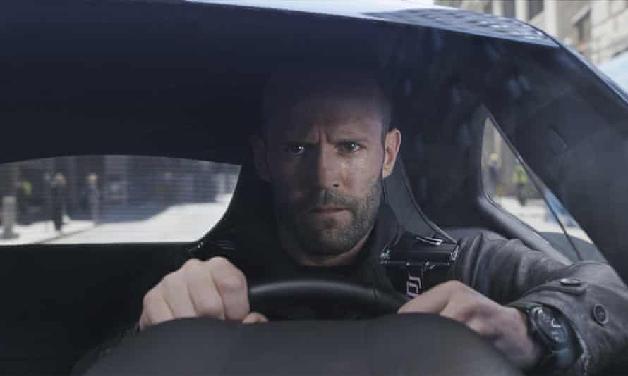 Crank call ... Jason Statham in The Fate of the Furious.