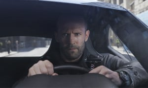 Jason Statham in The Fate of the Furious.
