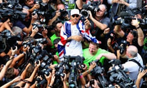 Lewis Hamilton has been in impeccable form all season and stands on the verge of another world title.