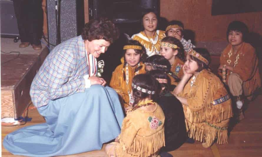 Christensen as Commissioner of Yukon in 1979.