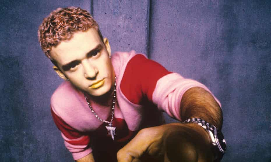 Justin Timberlake in his 'NSync days, in 1999.